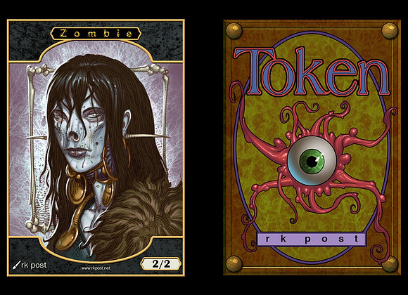T103 Full Color Zombie 3 Token
