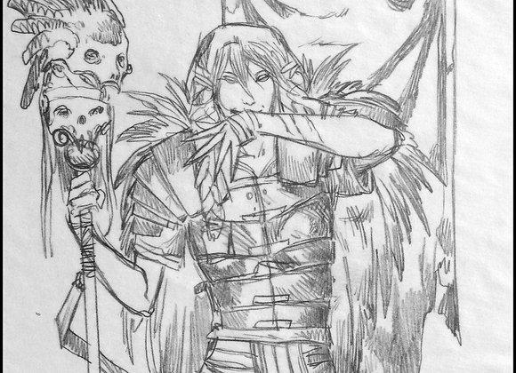 Legionaire, Initial Sketch