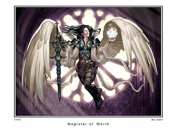 LP07 Large Magister of Worth Print