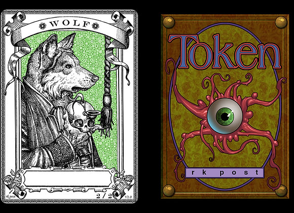 T135 Classic Wolf 1 Token