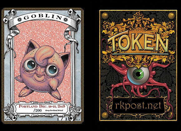 High# Portland 2019 Goblin 10 Token
