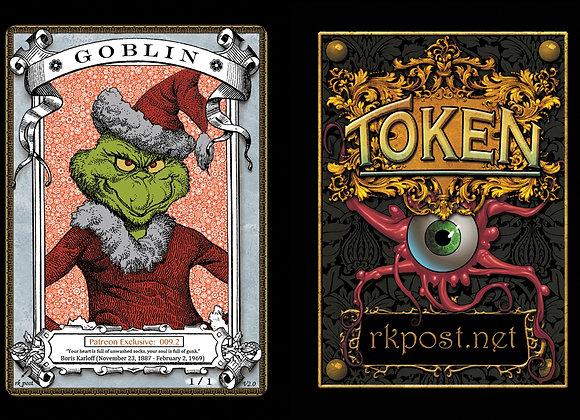 Patreon Release 9: Goblin 1  Silver Token