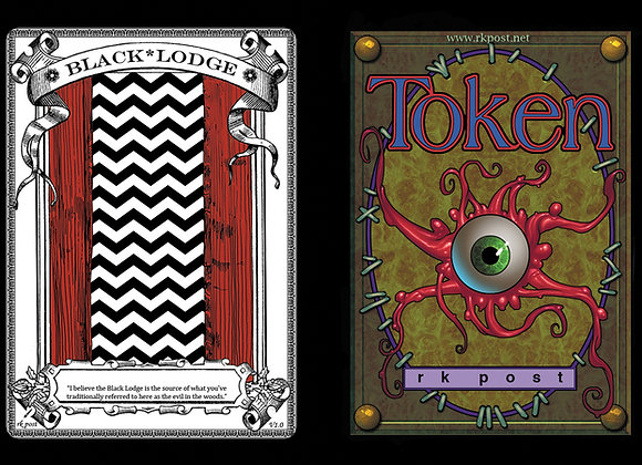 T394 Classic Black Lodge 1 Token