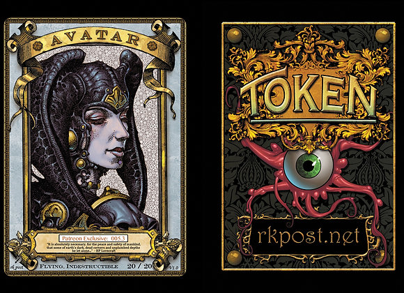 Patreon Release 5: Avatar 1 Gold Token