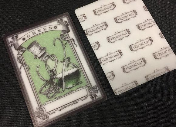 APT007 Mana Green 1 Acrylic Printed Token