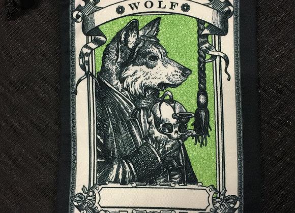 DB103 Wolf 1 Token Dice Bag