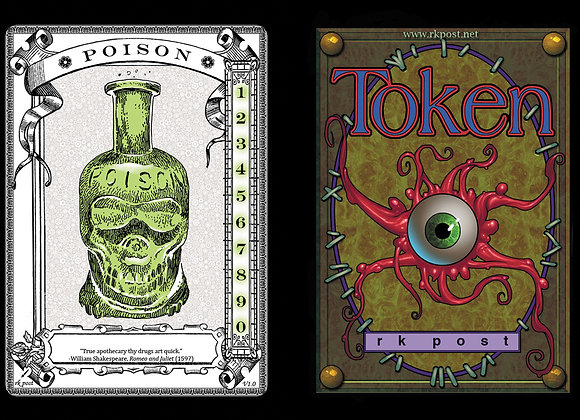 T436 Classic Poison Counter 3 Token