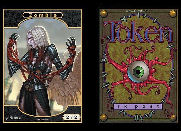 T393 Full Color Zombie 4 Token