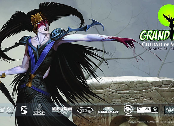 PLM099 GP Mexico City Event Playmat