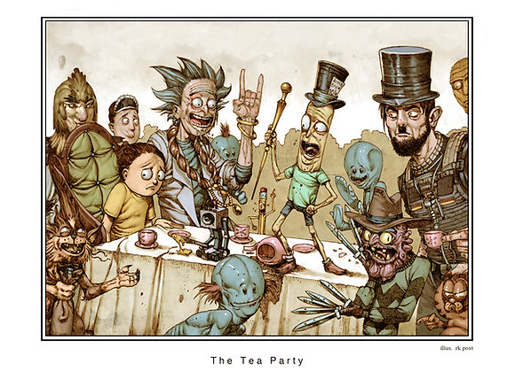 MP70 The Tea Party Print