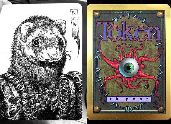 Platinum Token (Sketch Card)