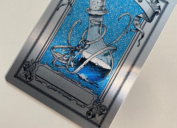 PAT019 Mana Blue 1 Aluminum Token