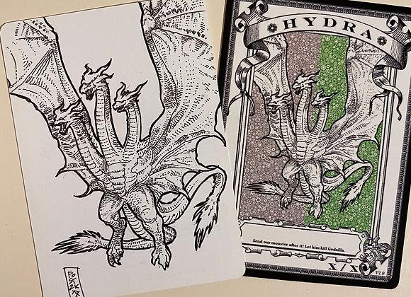 OTA020 Original Hydra 2 Token Art