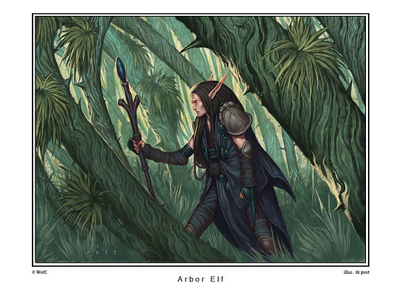 MP47 Arbor Elf Print
