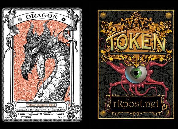 Patreon Release 8: Dragon 1 Bronze Token