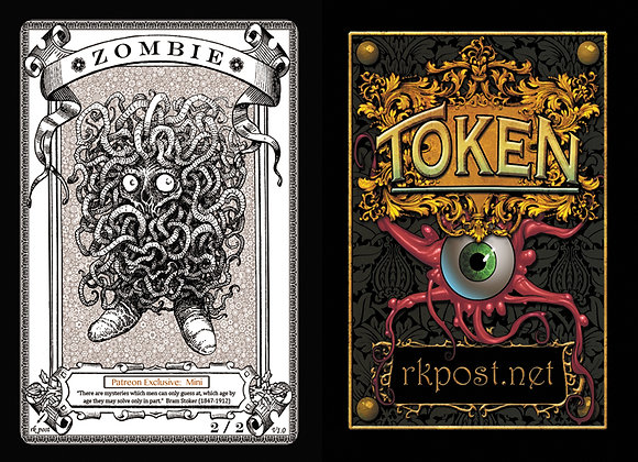 Patreon Release 2: Zombie 1  Mini Token