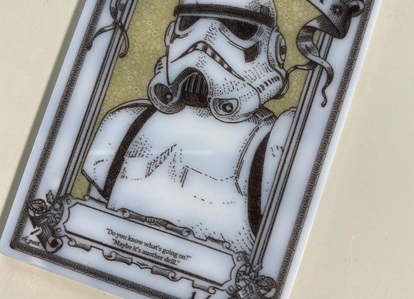 APT092 Human Soldier 8 Acrylic Printed Token