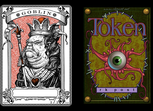 T156 Classic Goblin 3 Token