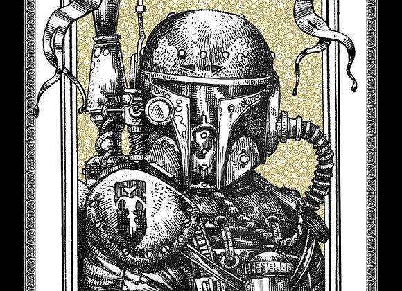 S107 Soldier 2 W Sticker