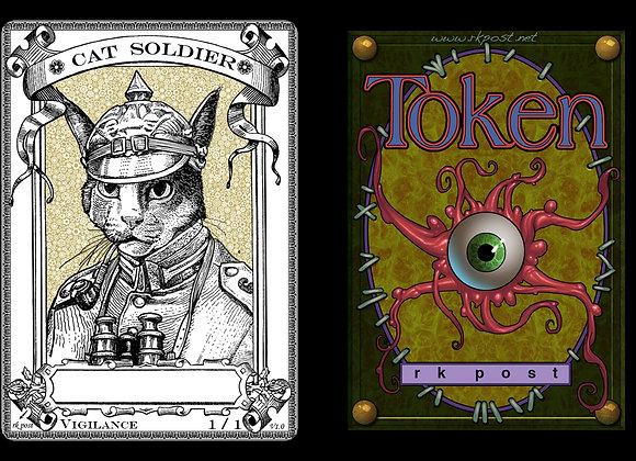 T143 Classic Cat Soldier 1 Token