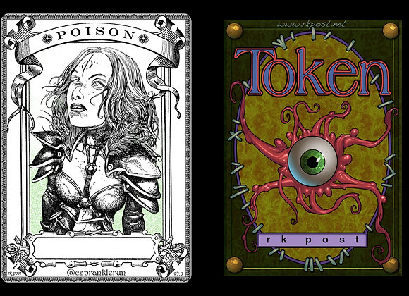 T165 Classic Poison Counter 1 Token