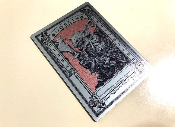 MTS013 Goblin Counter 1 Silver Metallex Token