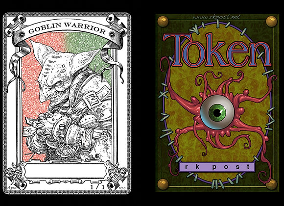 T279 Classic Goblin Warrior 1 Token