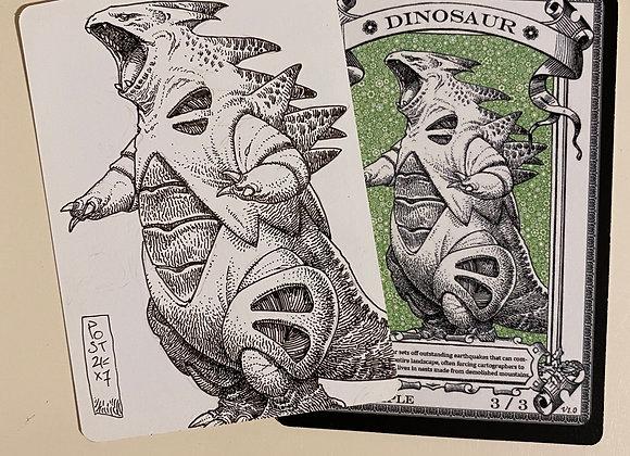 OTA039 Original Dinosaur 1 Token Art