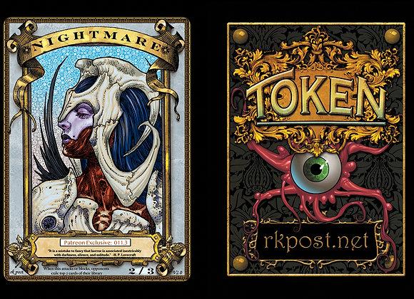 Patreon Release 11: Nightmare 1 Gold Token