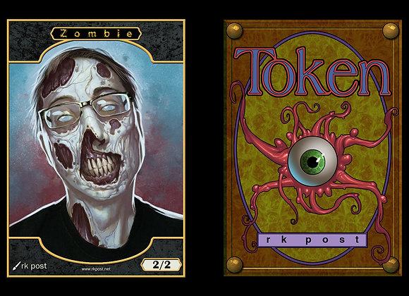 "T102 Full Color Passive ""Me"" Zombie 2 Token"