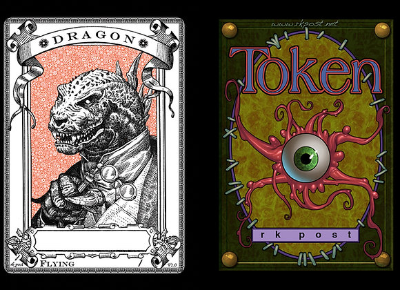 T182 Classic Dragon 1 Token