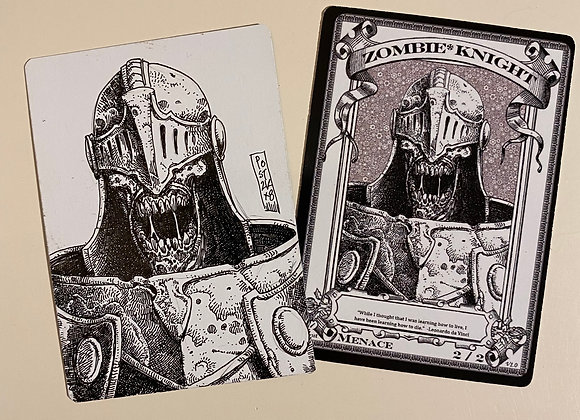 OTA015 Original Zombie Knight 2 Token Art