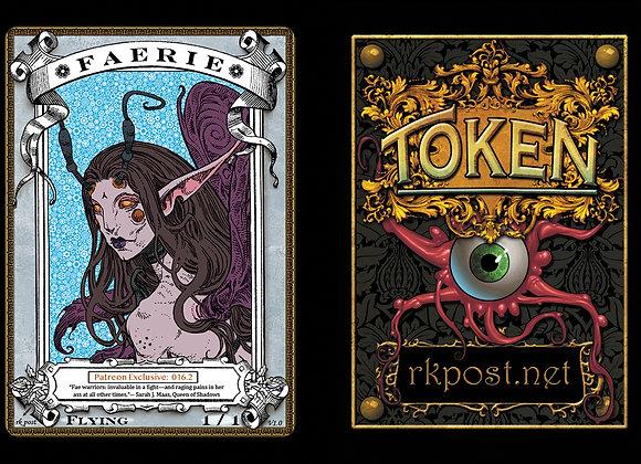 Patreon Release 16: Faerie 1 Silver Token