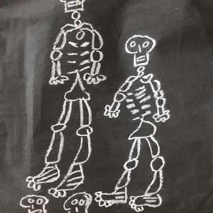 """Skeleton Friends"" | Max H. | $55"