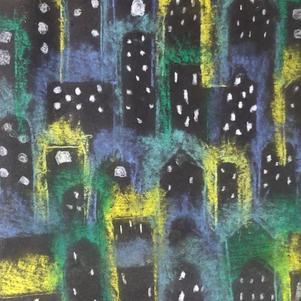 """City Lights"" | Georgie H. | $55"