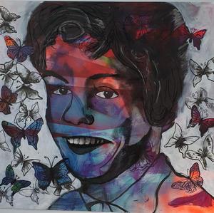 """Grandma's butterflies"" | Kim. E |$P.O.A"
