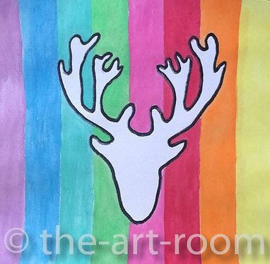 Rainbow Antlers