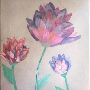 """Perfectly Pink"" | Georgie H. | $35"