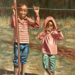 """""""Happiness at the Fence""""   Mandy H.  $256"""