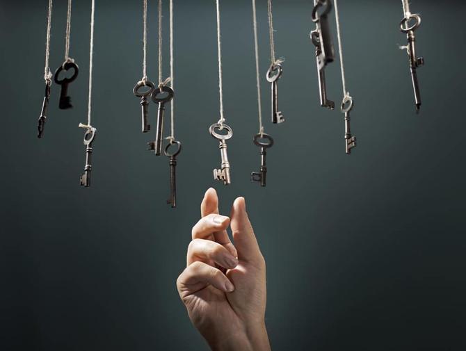 Les clés sont en vous