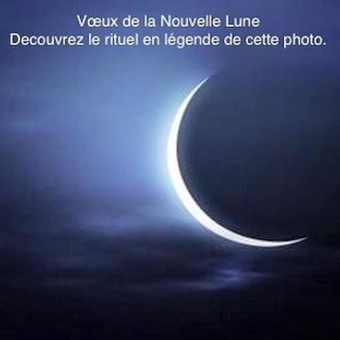 Voeux de la nouvelle Lune, le rituel