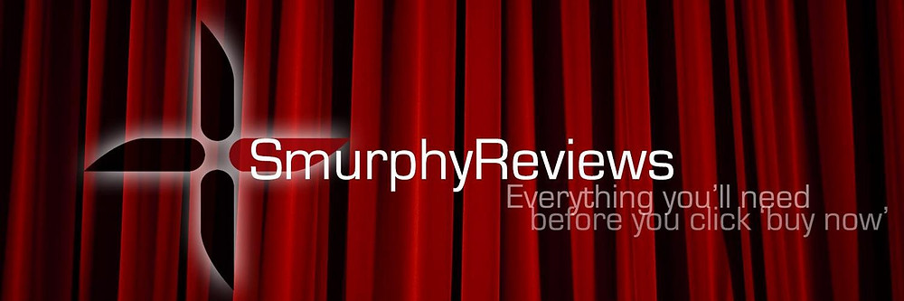 Twitter banner from Smurphy Reviews official profile.