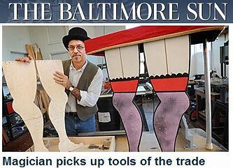 Baltimore Sun with Michael Cantori