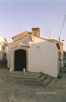 Estação da Via-Sacra, Largo D. Maria II. © Nuno Rocha, 1998. Arquivo O Riomaiorense.