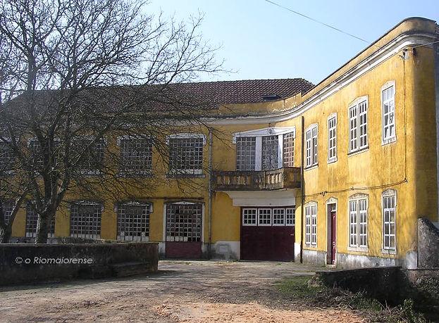 Moagem Maria Celeste, Rua do Jornal O Riomaiorense. © Nuno Rocha, 2005. Arquivo O Riomaiorense.