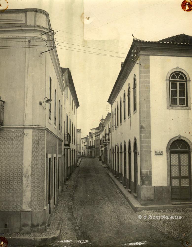 A Rua Direita em 1900