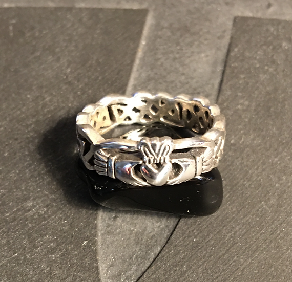 Sterling Silver (.925) Claddagh Ring