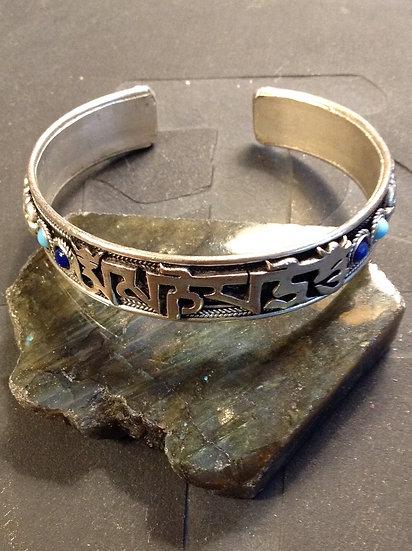 Copper Alloy Nepali Mani Bracelet