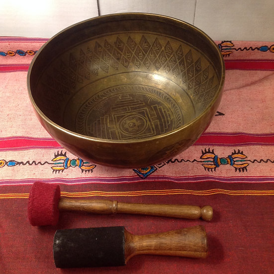 Large Himalayan Singing Bowl