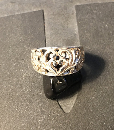 Sterling Silver (.925) Vine Ring